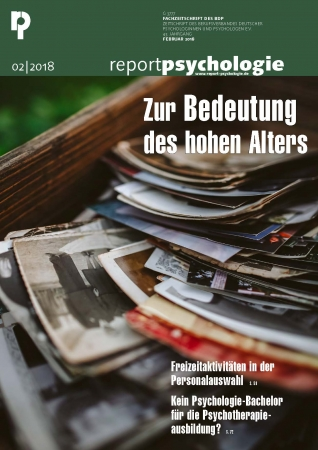 E-Paper Report Psychologie 2/2018